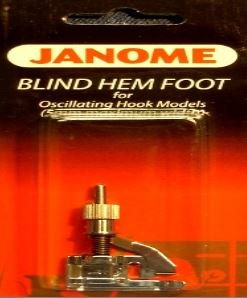 Janome Foot Blind Hem Front Load Machines