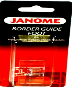 Janome Foot Border Guide Top Load