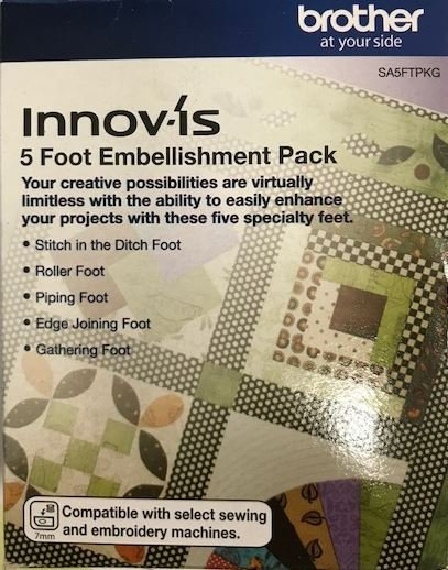 Brother Innovis 5 Foot Embellishment Pack