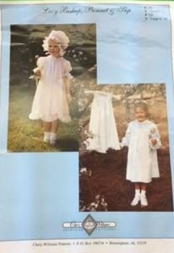 Chery Williams Heirloom Patterns- Lacy Bishop Bonnet and Slip