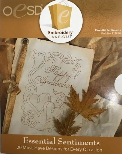 Design Pack OESD Essential Sentiments CD