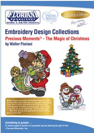 Design Pack Floriani Precious Moments - The Magic of Christmas
