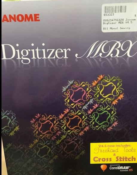 Software Janome MBX Digitizer 4.5