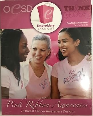Design Pack OESD CD Pink Ribbon Awareness