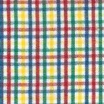 Cotton Fabric 60 Small Tri-Check