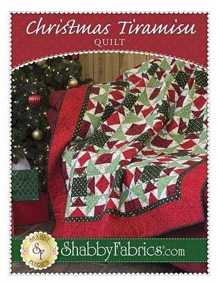 Pattern Christmas Tiramisu Quilt