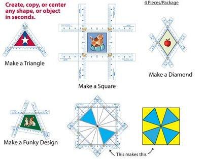 Fussy Cut Cutting Square 3.5 X 3.5