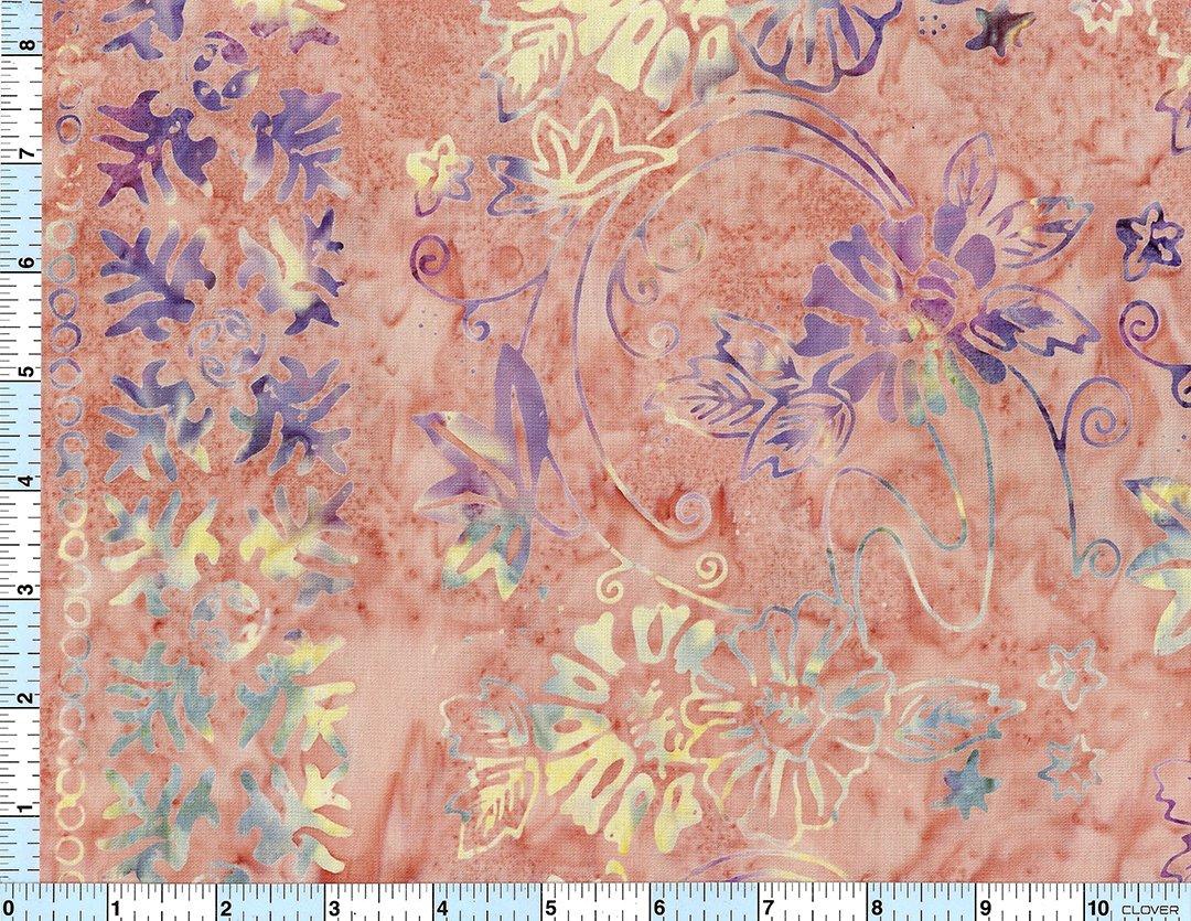 Batik Stamped Design BT8232 /yd