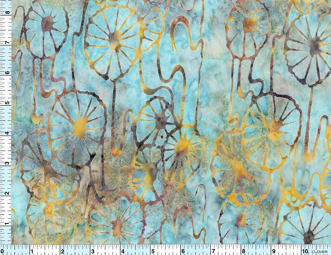 Batik Stamped Design 8246 /yd