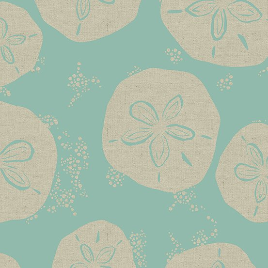 Canvas- Tidal Wave-Sand Dollar  STH#11228446