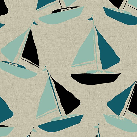Canvas- Tidal Wave-  Sail Boats- STH#11228447