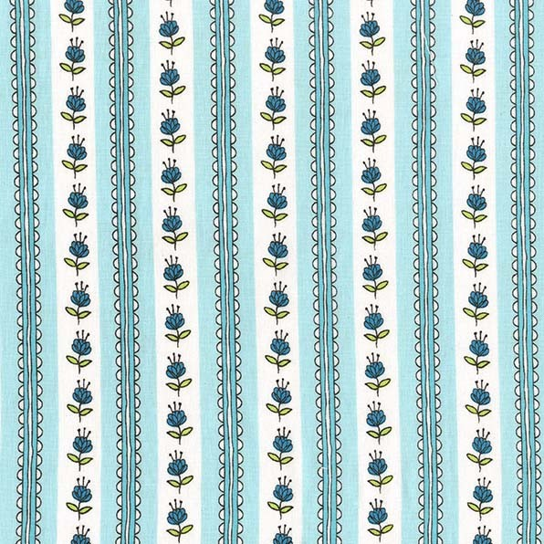 Clover Blossom- Aqua STH#11228451