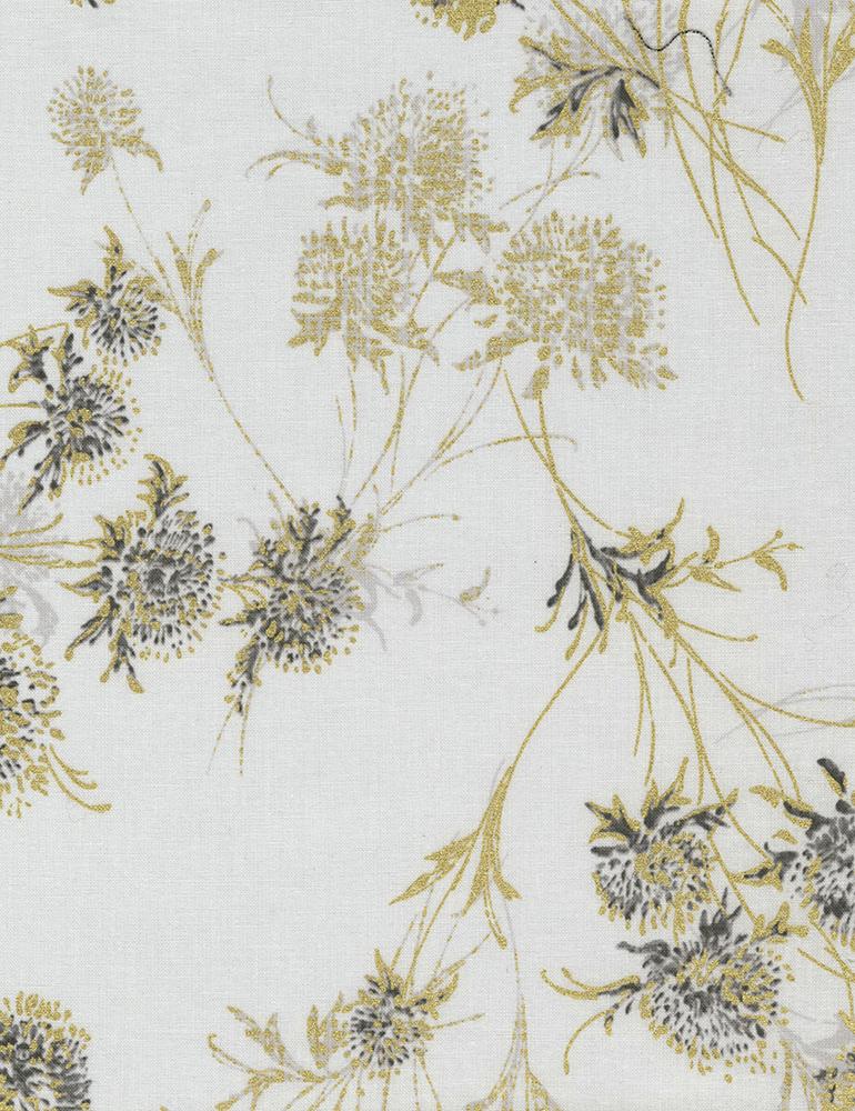 Cotton Print- Zephyr Dandelions- STH# 11228578