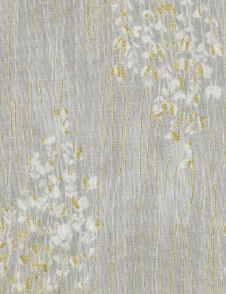 Cotton Print- Zephyr Sprigs Stripe- STH# 11228579