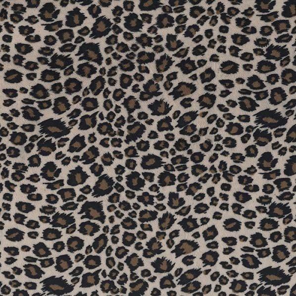 Minky- Cheetah- Beige/ Brown STH#11228696
