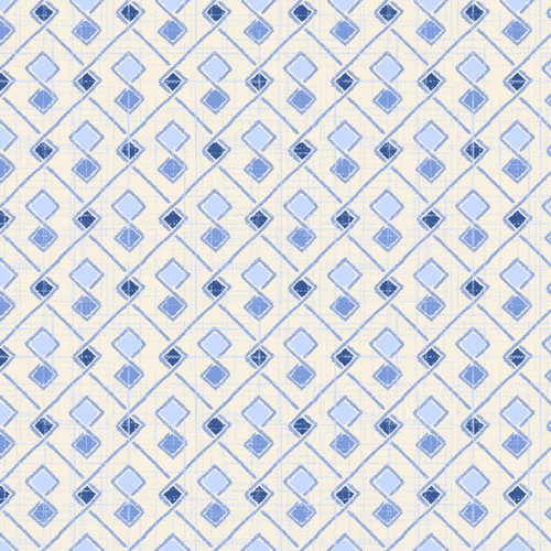 Cotton Print- Moody Blues- Argyle- Light Blue STH#11228927
