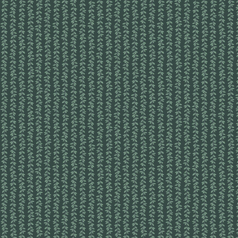 Cotton Poplin- Strawberry Fields- Laurel Stripe- Hunter STH#11229592