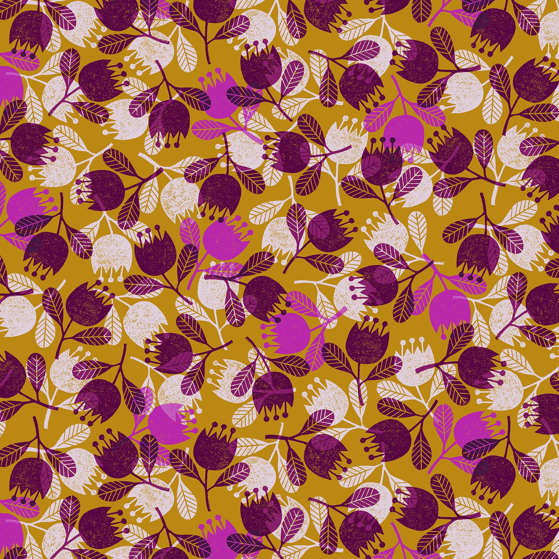 Cotton Poplin- Happy Day- Flower- Sunglow STH#11229575