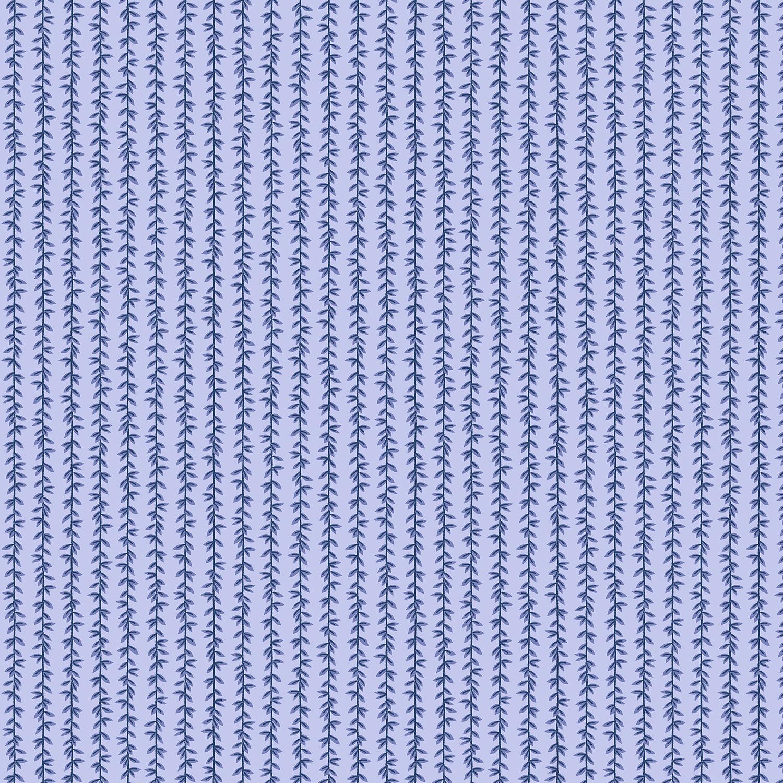 Cotton Poplin- Strawberry Fields- Laurel Stripe- Chambray STH#11229597