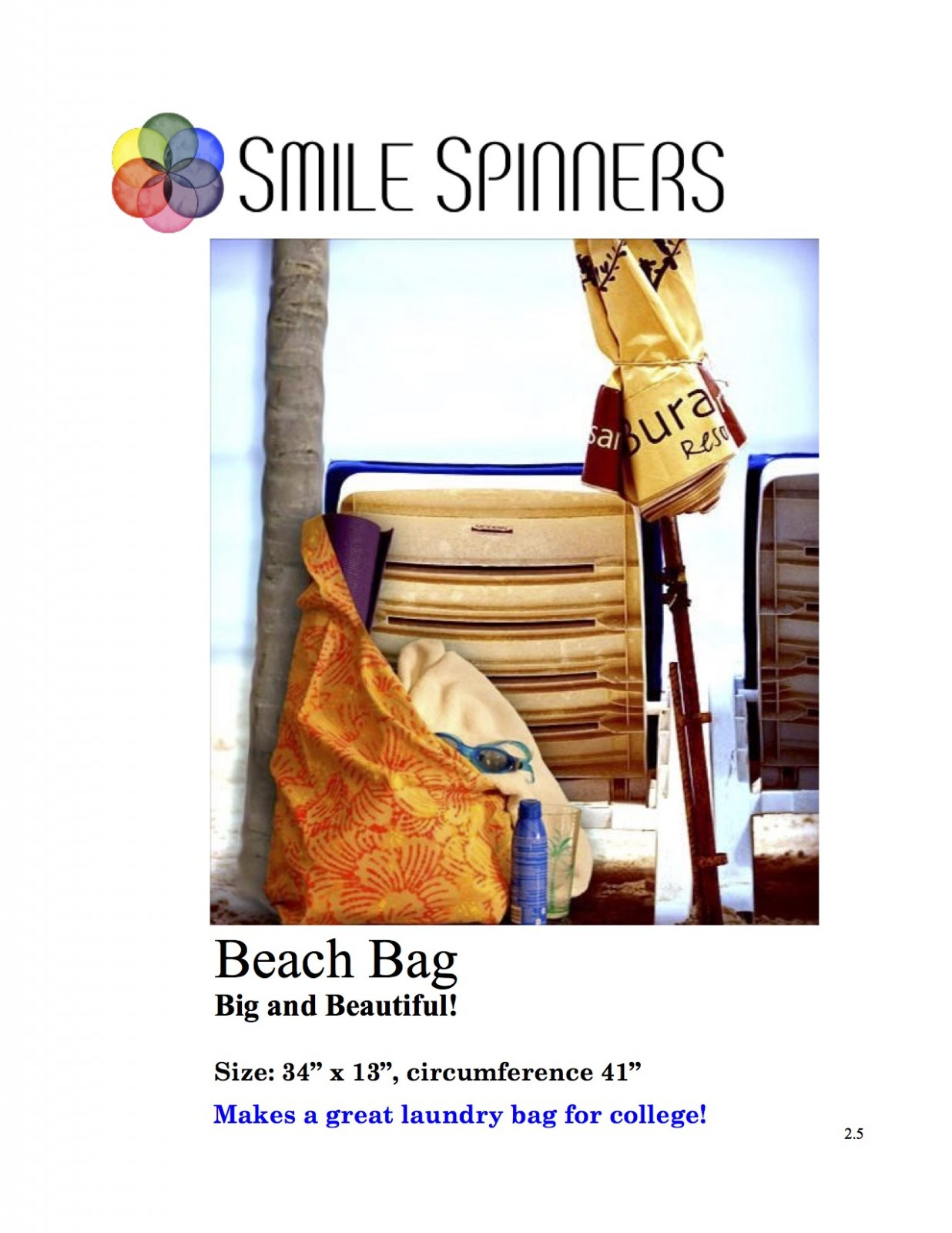 Bagalicious- Beach Bag