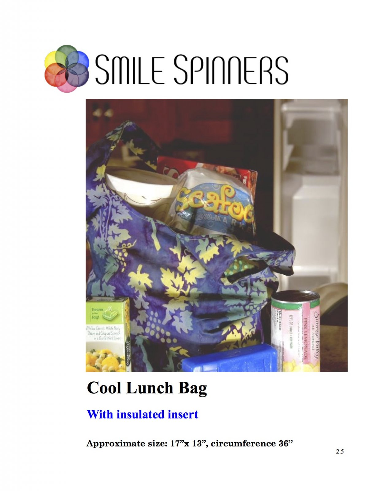 Bagalicious- Cool Lunch Bag