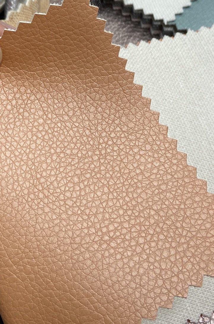 Faux Leather- EKOKUIR- Pearlized Peach STH#11229503
