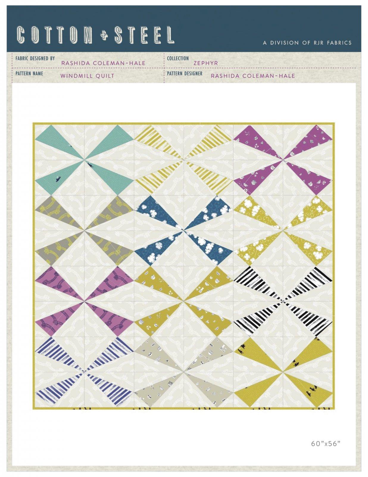 Free Windmill Quilt Pattern