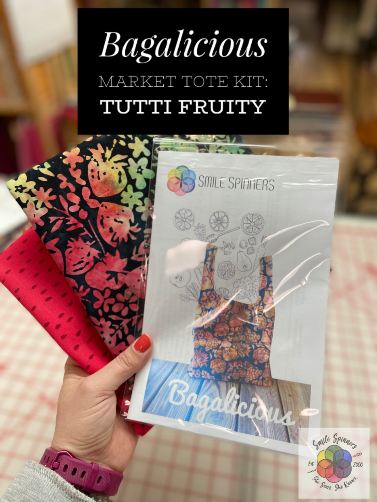 Fabric Kit for Bagalicious Market Tote-Tutti Fruity
