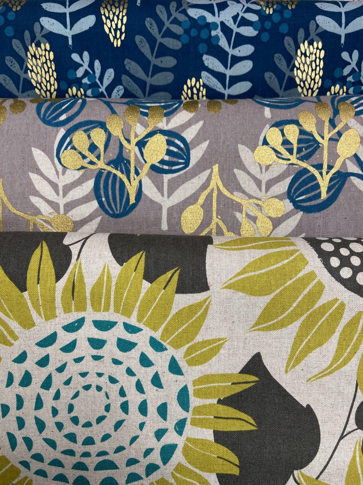Fresh Cuts Fabric Packs- Cotton Linen Canvas (4x 1/2 Yd Cuts)  - copy
