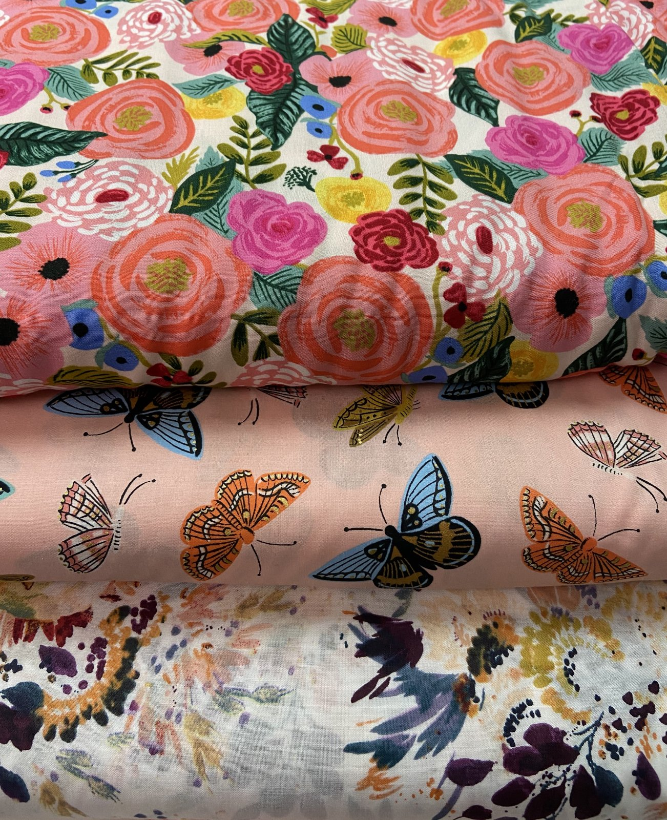 Fresh Cuts Fabric Packs- Cotton Lawn (3x 1 Yd Cuts)