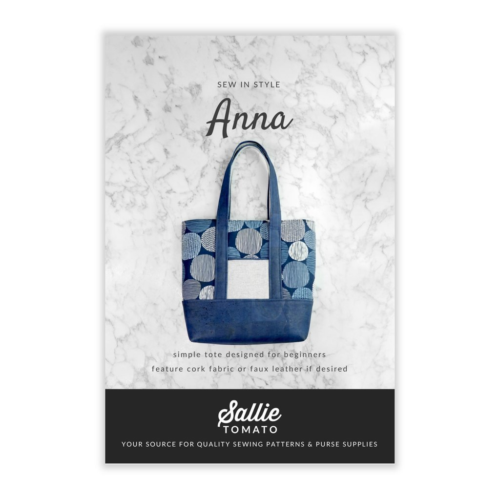 Anna Tota Bag- Pattern- Sallie Tomato