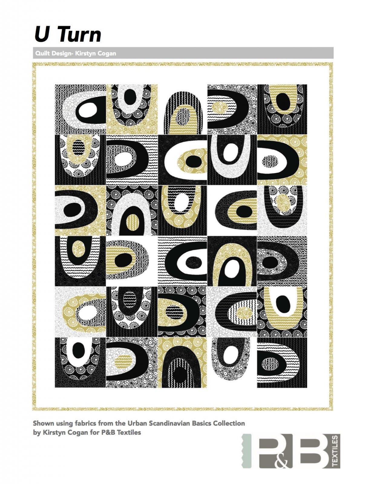 Free U-Turn Quilt Pattern