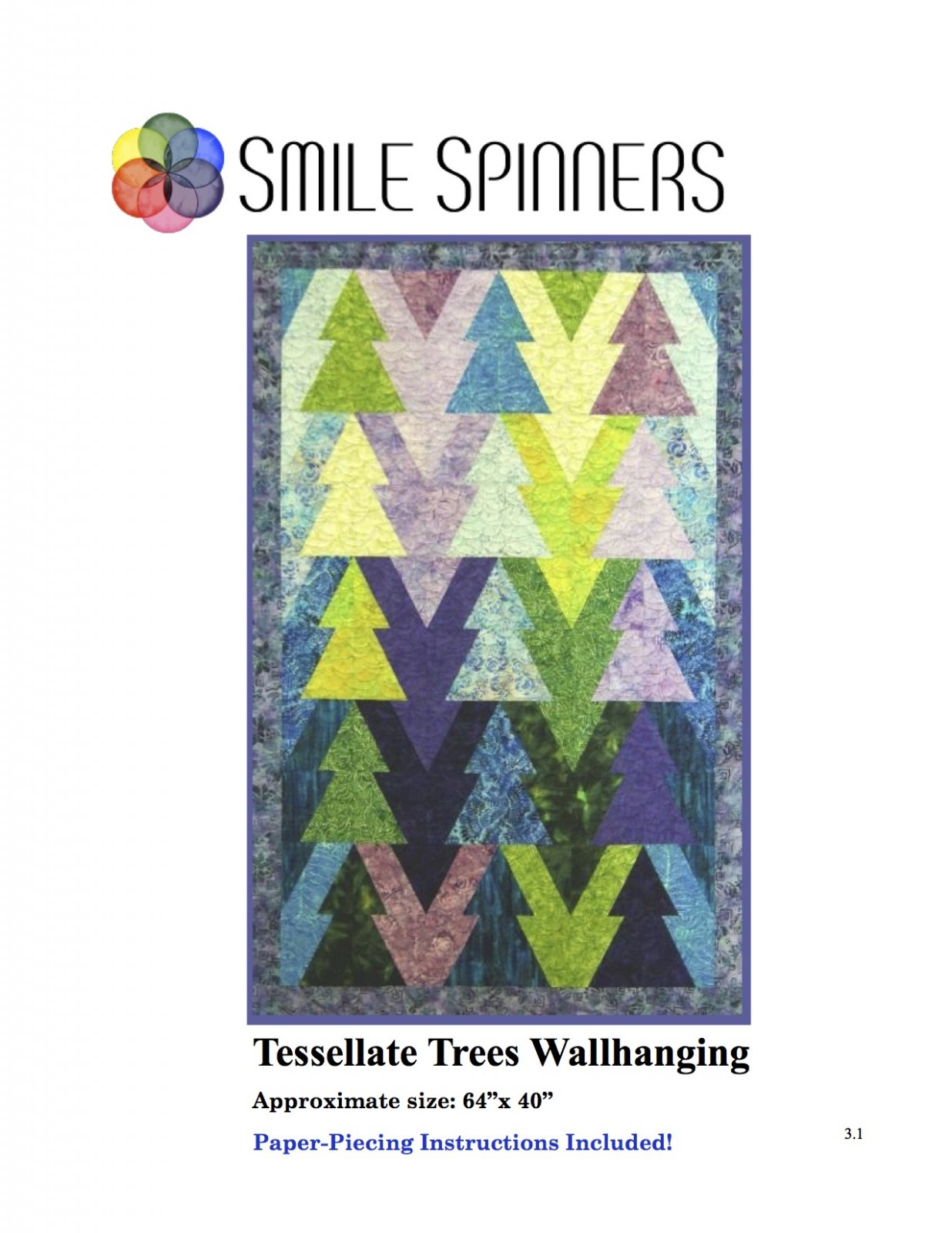Tessellated Trees Wallhanging