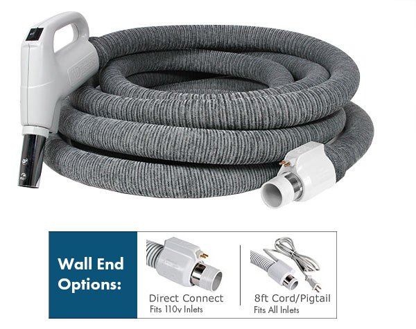 30' Electric Hose w/ Knitted sock