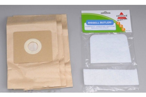 Bissell Butler Filter and Bag- 3 pk.