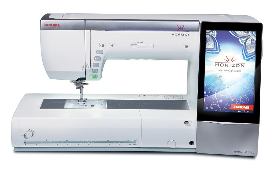 CERTIFIED PRE-OWNED JANOME MC15000 REFURBISHED