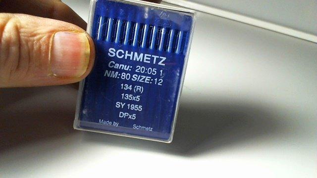 1955 135X5 SIZE 80/12 NEEDLES 10 ct SCHMETZ