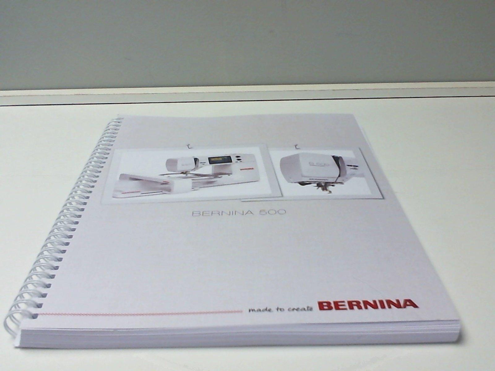 BERNINA MANUAL BNG500 ENGLISH