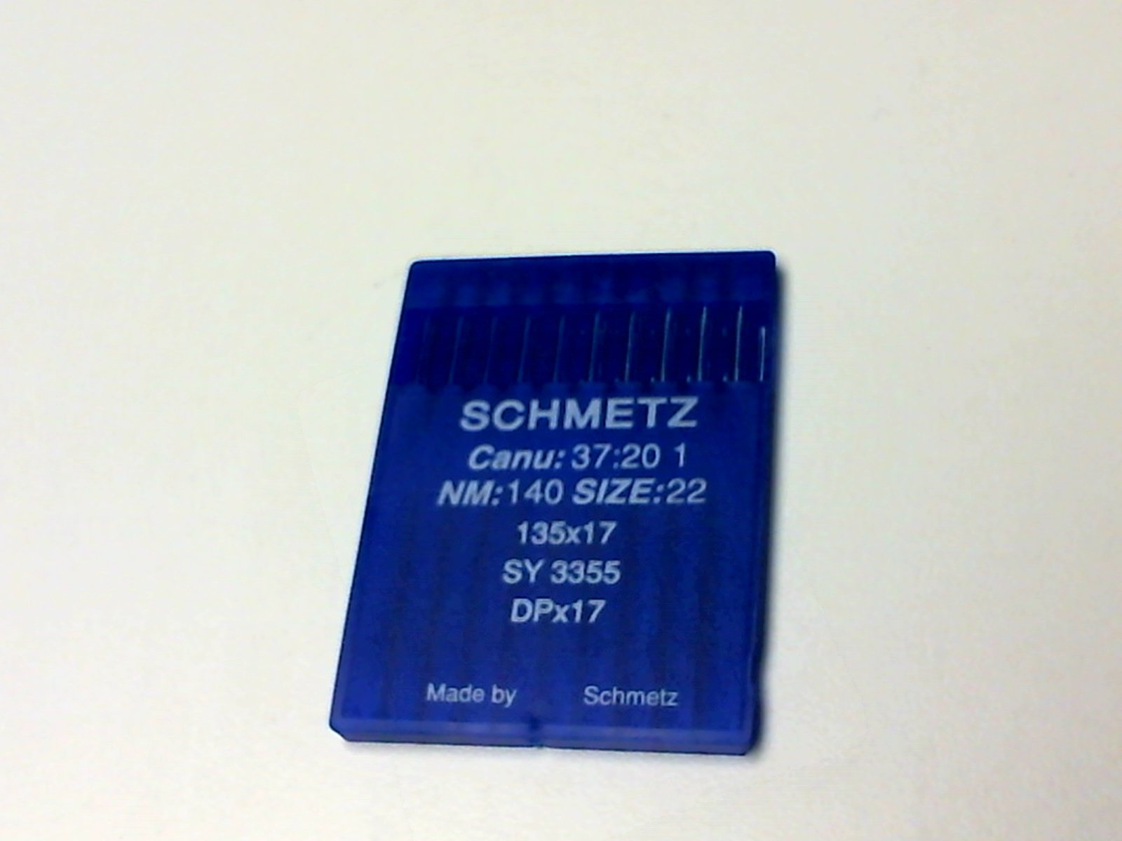 135x17 #140/22 NEEDLES SCHMETZ