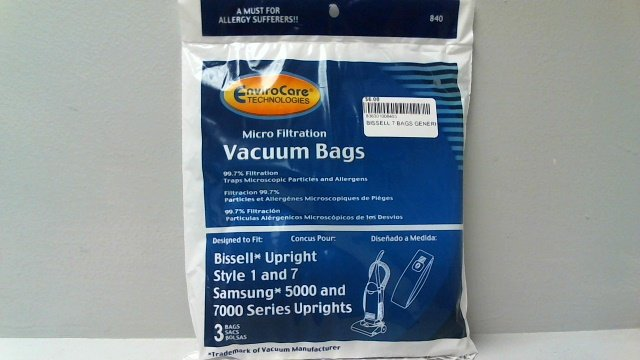 BISSELL ZING BAGS ENVIROCARE