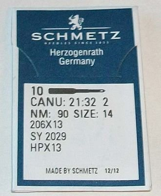 206x13 #14 Schmetz Needles 10pk  no longer manufactured!