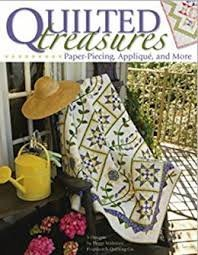 Quilted Treasures Bookby Peggy Waltman8219A