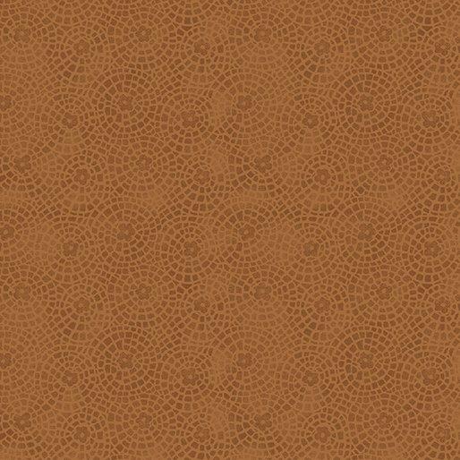 Benartex Sunshine Garden Cinnamon Garden Tiles 10076 79