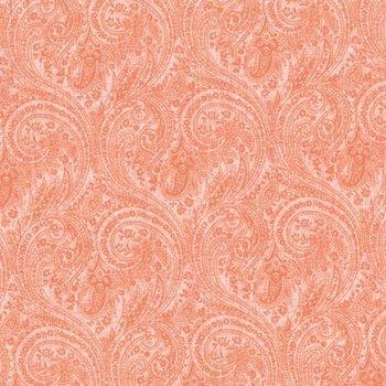 Fabri-Quilt Topaz Paisley Coral 112-27611