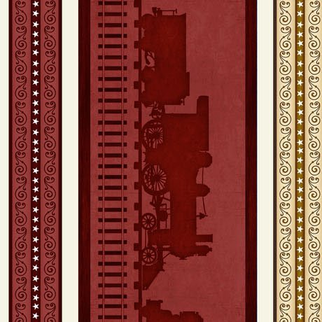 Quilting Treasures Full Steam Ahead 1649 25785 R Brick