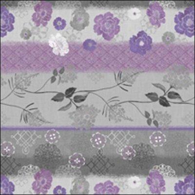 Wilmington Prints Purple Haze Border Print 1655 44065 961