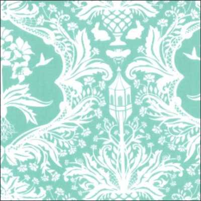 Moda Flora 25051 11 Turquoise