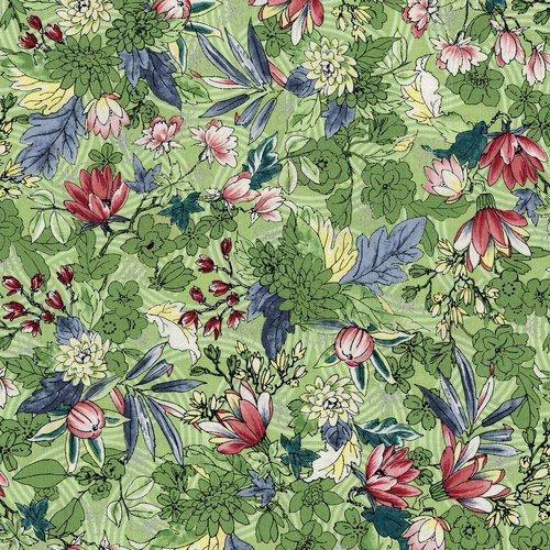 RJR Fabrics Serene Spring May Flowers Seedling 3251 003