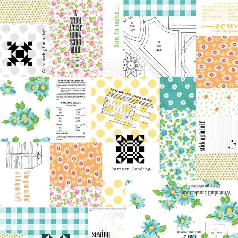 Moda -Sew & Sew Patchwork 33180 11