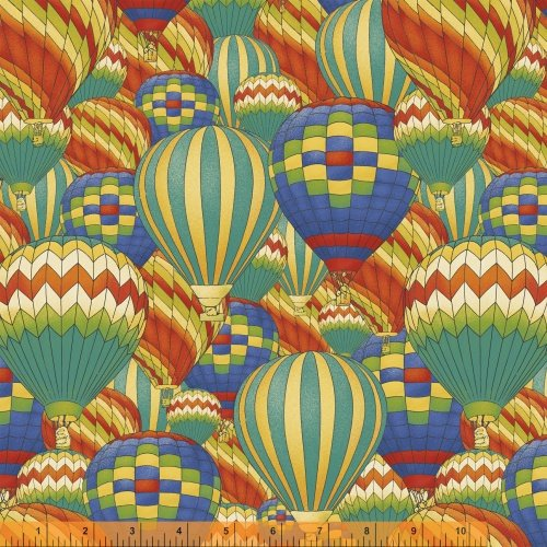 Windham Fabrics Adventure Awaits 43443 X All over Balloons
